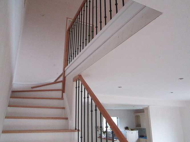 Escalier incolore laqué photossite089