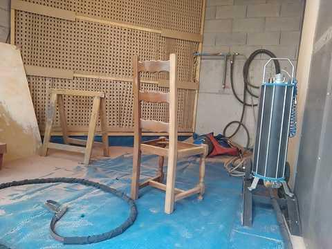Restauration complète d''une salle à manger photossite1019