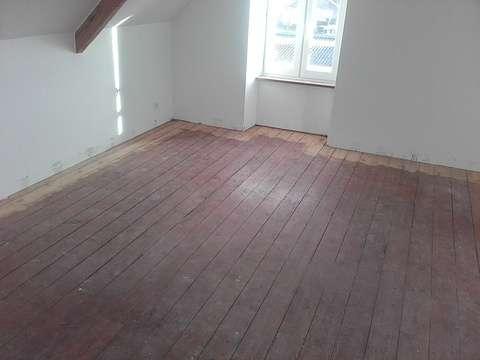 Rénovation de parquet à St Cast escalier060