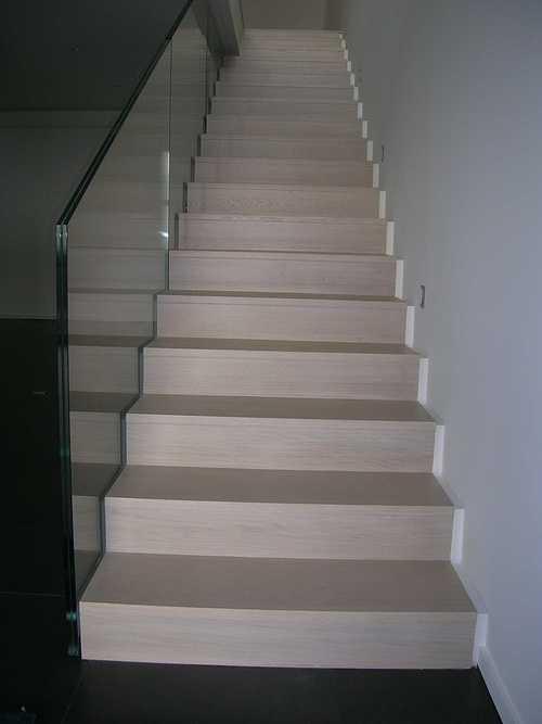 Escalier laqué Blanc escalier117