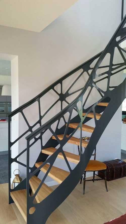 Escalier architectural - métallique 0