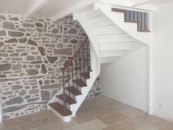 Escalier marches naturelles incolores 0