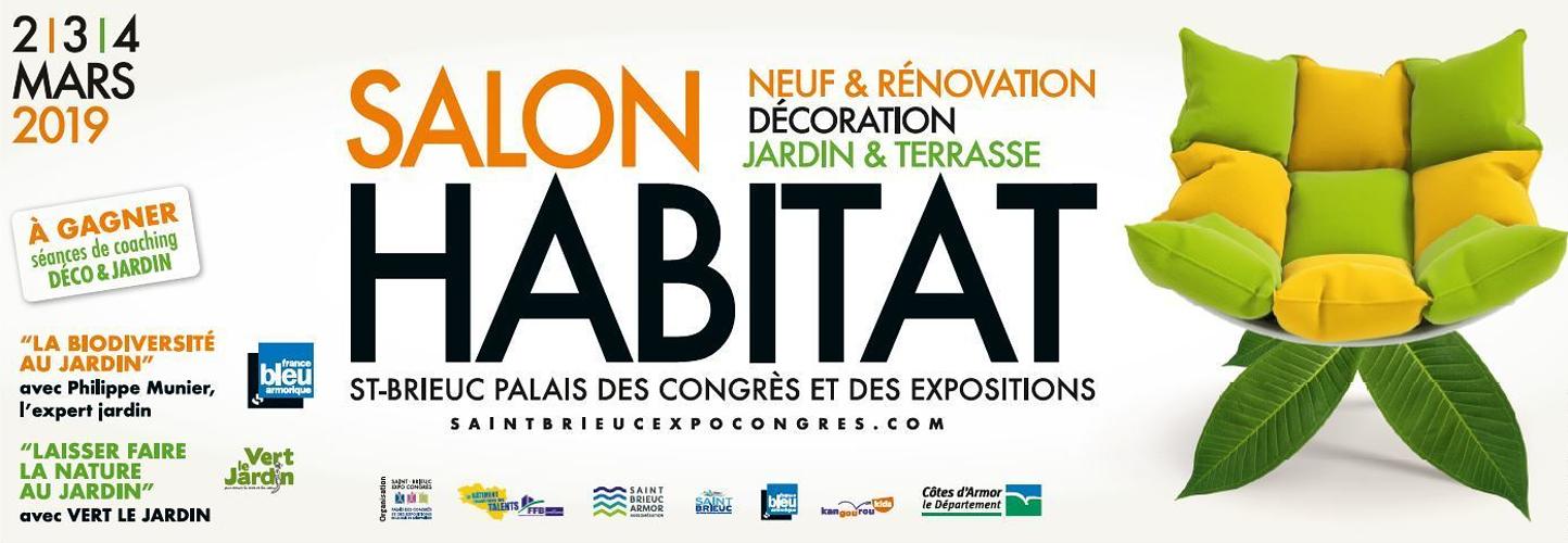Salon de l''Habitat à Saint-Brieuc : 7,8 et 9 mars 2020 0